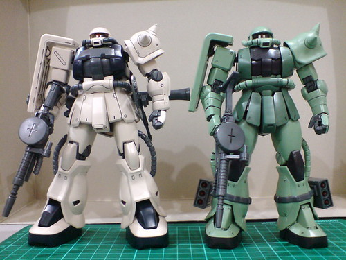 Definitive MG Zaku II 2.0 Review – 98.6% : Gaijin Gunpla