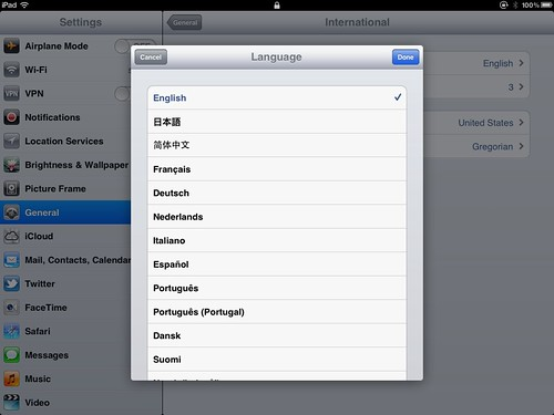 iPad Language Settings (2)