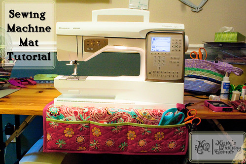 Free Sewing Machine Mat Tutorial | Katie's Quilting Corner