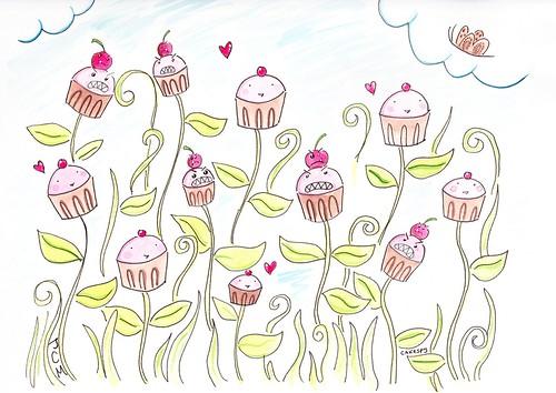 Cupcake Plants