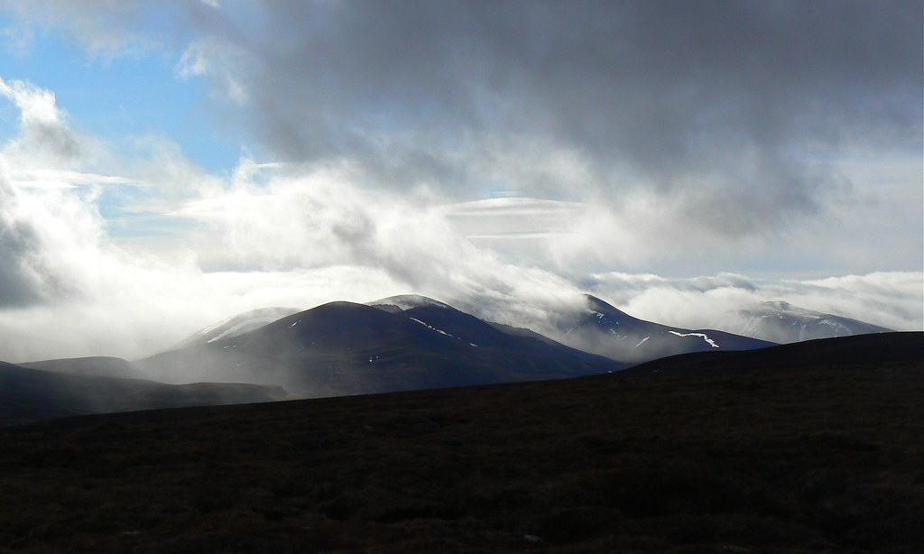 Ben Avon and the eastern Cairngorms