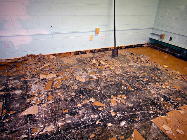 Friable Asbestos Floor Tile Flickr Photo Sharing