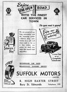 Suffolk Motors Limited - BFP 2 June 1953