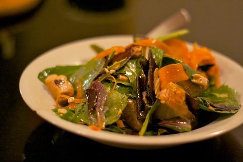A crunchy salad