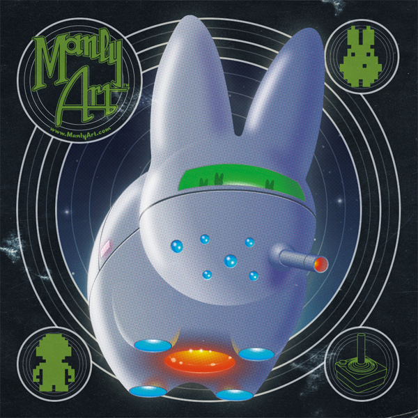 Space Labbit Sticker