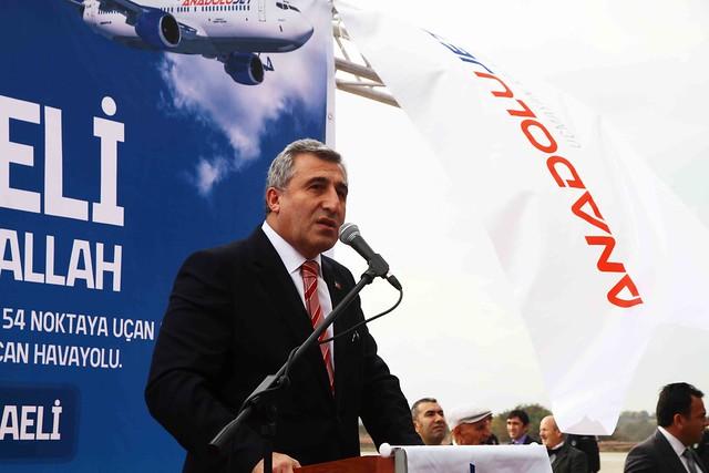 Cengiz Topel'de İlk Uçuş Gerçekleşti