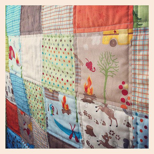 Fox Trails Charm Quilt