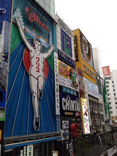 大阪たこ焼きツアー@道頓堀-01