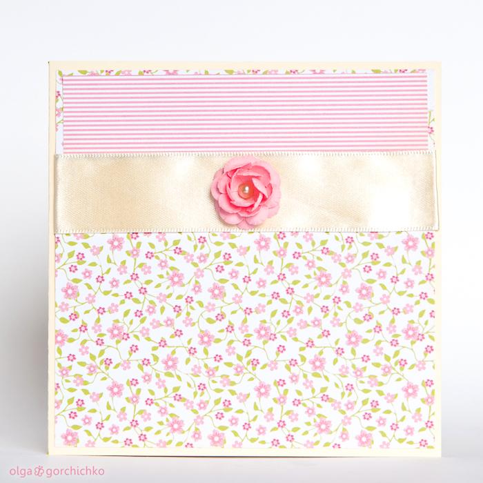 Цветочные скрап-конверты для дисков