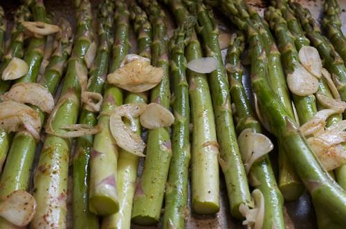 asparagus roasted 5