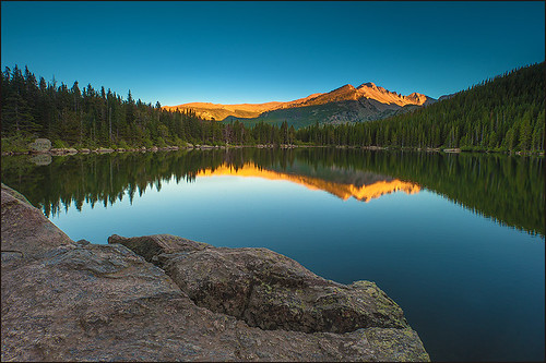 travel sunset usa mountains nature landscape colorado rocky