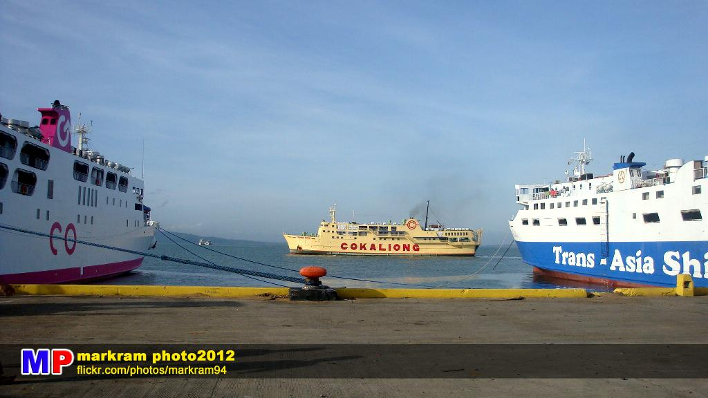 Cebu Ships at Ozamiz Port