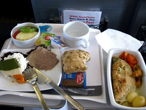 Special meal ( No salt ) LHR Business Class Munich - Stockholm - brunch