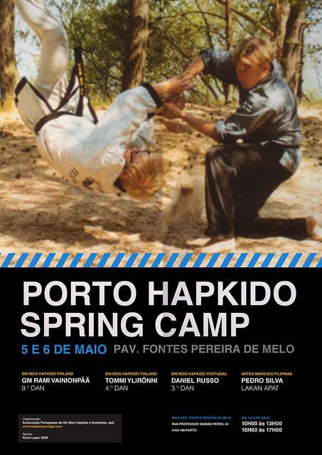 Porto Hapkido Spring Camp 2012 poster