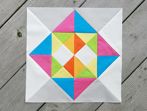 Diamond Mine Quilt Block