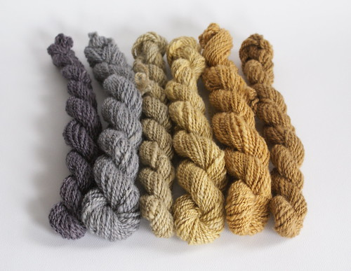 Mini-Skein Madness: Burnished