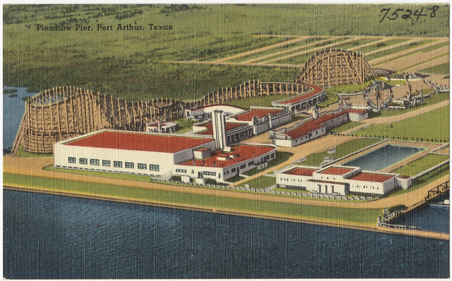 Pleasure Pier Port Arthur Texas Flickr Photo Sharing
