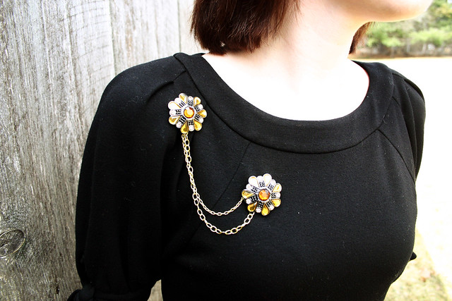 Joan Holloway Inspired Brooch