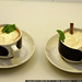Hot Chocolates with mint, mint leaves, cinnamon sticks and whipped cream    MG 0363