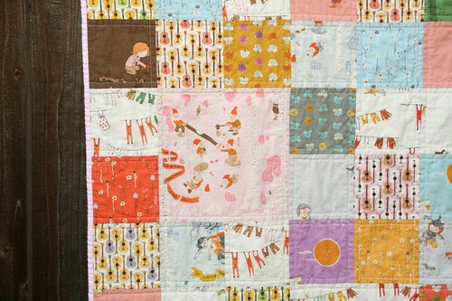 Far Far Away III patchwork quilt