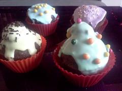 Cupcake en folie