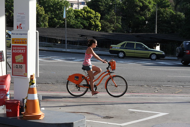 Rio Bike Share Cycle Chic
