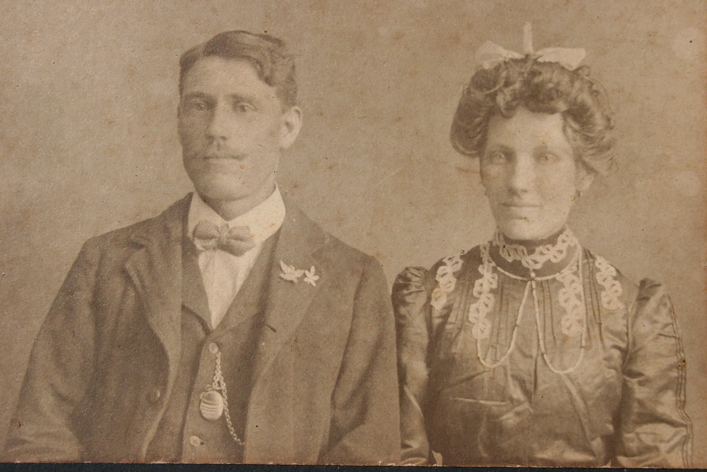 John H. Ridley/Riddle and wife, Alice.