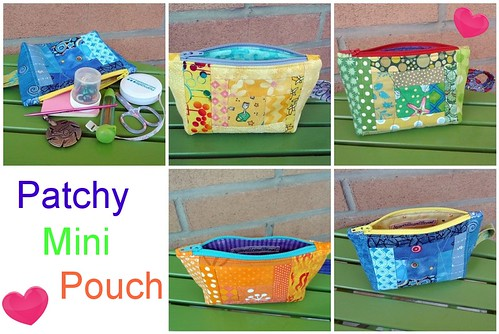 Patchy Mini Pouches