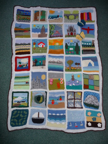 'Your Local Landscape' Blanket has raised £95.00 for Jersey Mencap. Thank you!