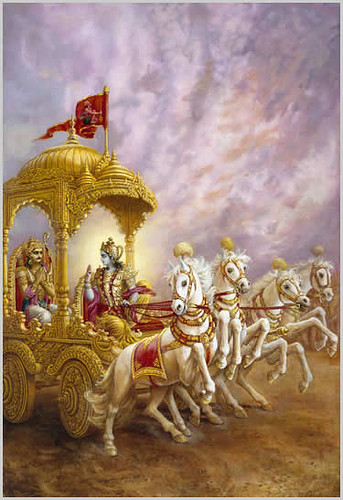 sreyan sva-dharmo vigunah para-dharmat svanusthitat sva-dharme nidhanam sreyah para-dharmo bhayavahah