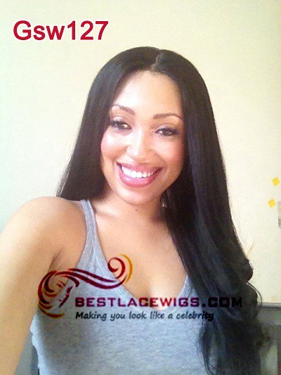 Gsw127 virgin remy full lace wigs yaki | Flickr - Photo ...