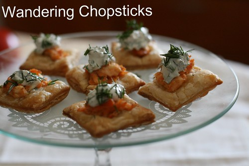 Salmon and Dill Mini Tarts 13