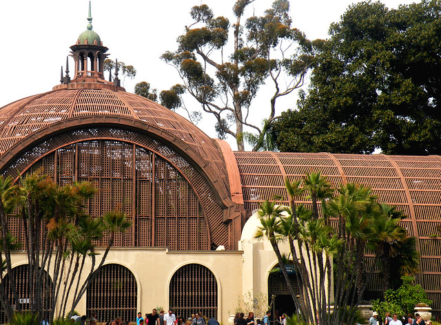 Front of Botanical Building