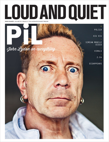 John Lydon (aka Johnny Rotten) for Loud & Quiet Magazine