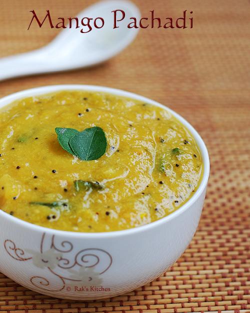 Mango-sweet-pachadi