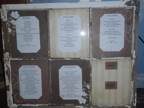 Barn Window Organizer