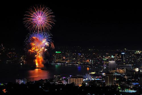 Pattaya firework festival 2011