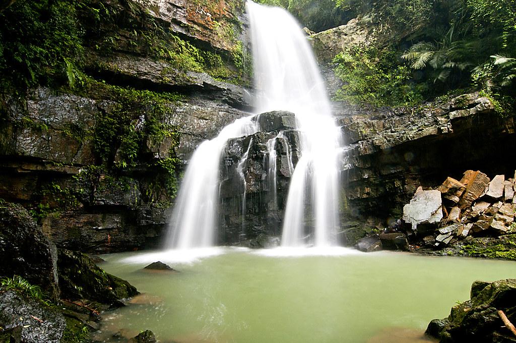 桃米~水上瀑布