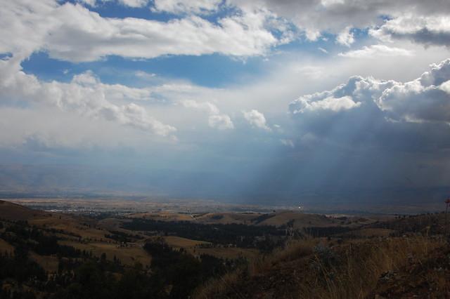 Clouds Breaking in Huancayo, Peru