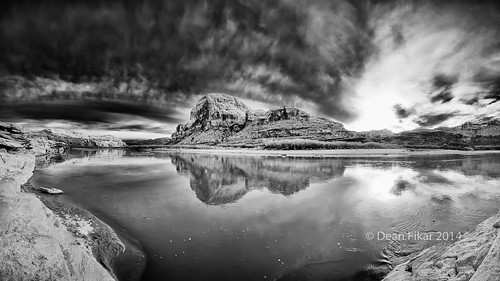 travel sunset sky panorama cloud sunlight reflection nature water clouds river dark landscape evening utah day unitedstates ominous dramatic nobody calm shore coloradoriver moab ripples stormclouds