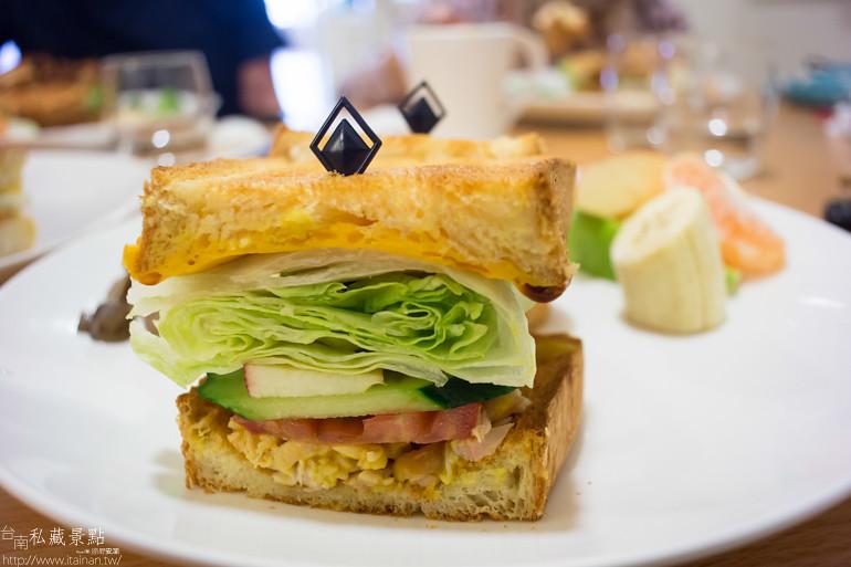 台南私藏景點--宇慶咖啡早午餐 (18)