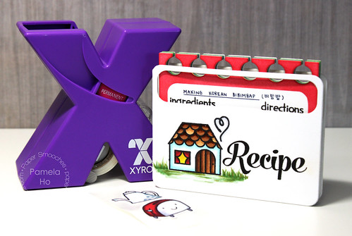 Paper Smooches - Recipe Box