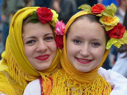 Български момичета в Брюксел