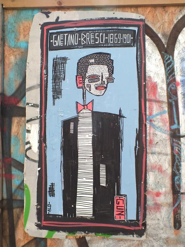 Alo street art, Hackney Wick, London