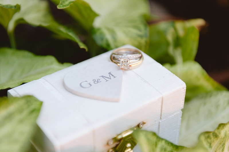 Wedding detail photos are so important - case in point, the rings