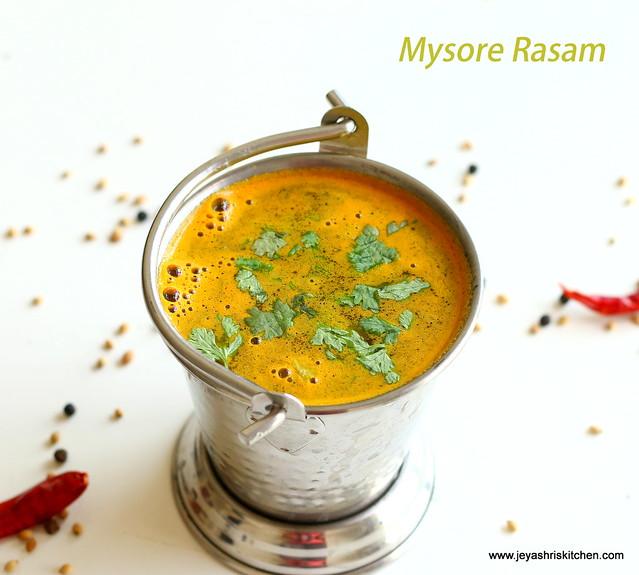 mysore- rasam