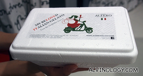 Alfero takeaway packaging