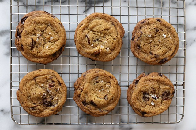 Brown Butter Chocolate Chip Cookies With Smoked Sea Salt A Vintage ...