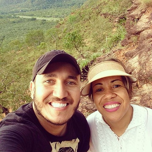 Com minha irmã Itacyara Brasileiro