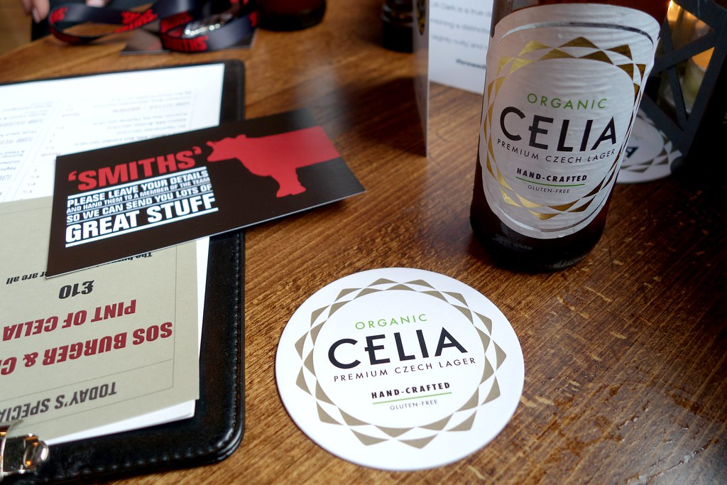 Celia at Smiths - Gluten Free Beer